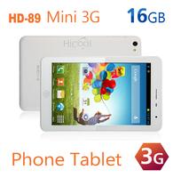 HD-89 Mini 3G  MTK8389 Quad Core Smart Phone 7 Inch1280*800 IPS Screen Android4.2 Dual Sim 8MP Camera 1G RAM 16G ROM White