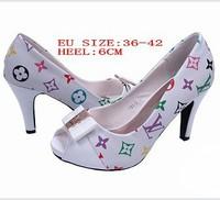 Hot Selling Ladies High Heels Peep|open Toe White+BLACK Weddings Shoes Women Pumps|Platform Sandals Big Plus Size Eur 36-42
