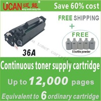 36A(CTSC) compatible toner cartridge for HPCB436A ; one CTSC equal to 6 pieces of normal toner cartridge
