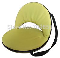 TA55-3 (4pcs/lot) floor sitting furniture Yoga Meditation chair flloor lower back support Yellow Color  yoga meditation chair