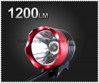 Headlamp CREE XML XM-L T6 LED Bike Bicycle Light HeadLight HeadLamp 1200LM red color(UniqueFire 001)~