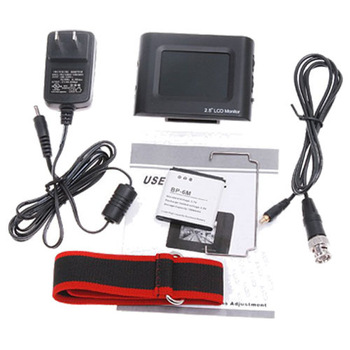 "2.5"" TFT LCD Monitor CCTV Camera Portable DC 12V Output For Camera Video Tester"
