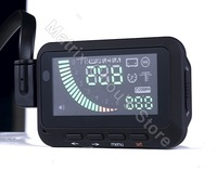 iFOUND F01 Universal ActiSafety Car HUD Head Up Display System, Speed, RPM, Water Temp, Fuel Consumption, Voltage, OBD2, OBDII
