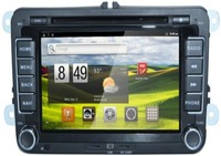 VW Golf Jetta Passat Bora Touran Tiguan Skoda Android 2.3.7 DVD GPS 7 inch;sliding down 2 din;1600*1200;freescale cortex A8
