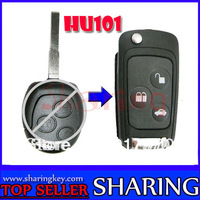 (1 Piece) Flip Folding Key Shell for FORD Fiesta Mondeo C-Max S-Max Remote Key Case Fob 3 Button