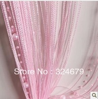 Hot&,colors can be mix , window curtain,size:100*300cm, Gypsophila line curtain ,home curtain ,gift