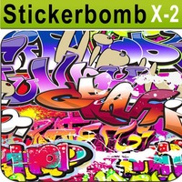 Sticker Bombing Whimp Kid Vehicles Wraps Bubble Free Size: 1.52 M Width by 5/10/15/20M Length/ FREE SHIPPING REATIL / X-02