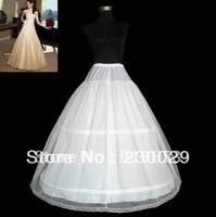 Wholesale - free shipping new white three laps two layers petticoat / petticoat / too simple / slip wedding  petticoat