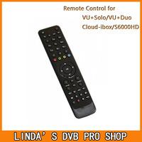 1pc VU+ remote control for VU+ duo VU+ solo Cloud-ibox Openbox S6000HD satellite receiver free shipping