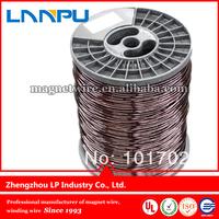 Enameled aluminum wire use for motor