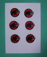 Mammoth embroidery fabric embroidery fabric mammoth embroidery badge sports fabric  a18