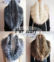 Free shipping autumn and winter female large faux fur scarf collar scarf muffler women's cape fur collar wraps