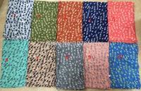 Free shipping ladies fashion bird  print scarf  big size scarf in mix colour