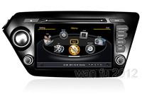 A8 chipset S100 DVD GPS navi headunit 3G/WIFI Internet 20 V-cdc 1G CPU F KIA K2 (2011 2012) / RIO 2011