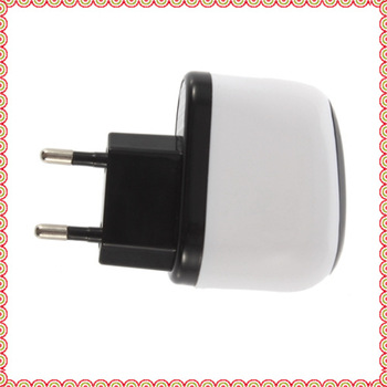 10pcs New EU Plug USB Travel Home Wall AC Charger Adapter For iPod for  iPhone 4G 3G 3GS free shipping wholesale