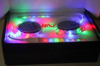 2pcs Solar LED wheel lights, LED car glare wheels, Crystals plastic shell, traffic safety warning, easy to install, free ship