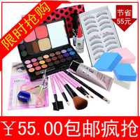 Free shipping Make-up set 12 , professional makeup general . bag cosmetic brush