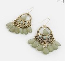 2014 Wholesale Korean Fashion Jewelry National Style Bohemian Bead Earrings XY E369