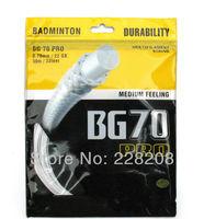 Free shipping-YY NBG70 Badminton string/Nanogy 70  string/badminton racket/badminton racquet