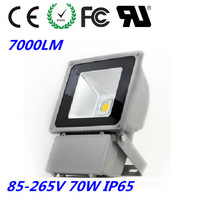 FREE SHIPPING FEDEX AC85-265V/DC 12V-24V 7000LM   70W LED flood light 900LM 120 beam angle 50000hours CE ROHS FCC + 100PCS/LOT