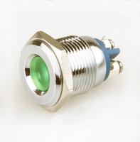 Free Shipping 6V 12V 24V car eye led light with screw terminal,16mm metal waterproof IP67 pilot Lamp and indicator light