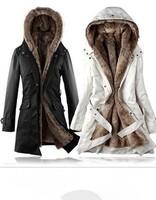 fashion winter wadded female Down & Parkas big size wool liner thickening overcoat Poncho Jaqueta Casaco Sobretudo abrigos