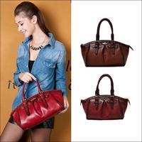 Brand New 2014 High Quality Vintage Fashion Designer Women Handbag Genuine Cowhide Leather Hobo Handbag Totes Free shipping 1922