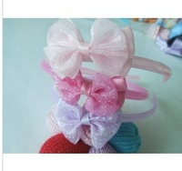 HB01 Korean children hair accessories factory direct jewelry lace bow KID hair bands children jewelry wholesale