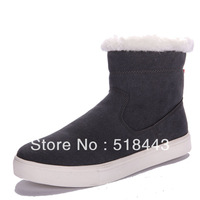 High fashion male casual shoes foot wrapping fashion cold-proof snow boots daily casual shoes plus cotton high-top shoes