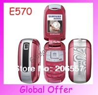 E570 Original Unlocked Samsung E570 E578 mobile phone Bluetooth Camera MP3 JAVA Cheap Cell phone Refurbished 1 year warranty
