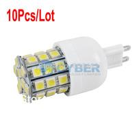 Hot Sale 10Pcs/Lot G9 39 SMD5050 LED Corn Light Cold White/Warm White Bulb Lamp 200V-240V/3.5W 14656 14657