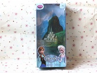 Free Shipping In Stock 12inch Frozen Doll Anna and Elsa Princess Dolls Frozen doll Toys For Girl