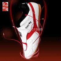 [Maria's] Free Shipping Good Breathable Wear Beef Tendon Taekwondo Shoes Tae kwon do Adult Children White (size36-43)