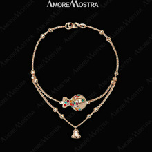 cheap 18k gold anklet