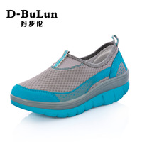 2014 Rushed Hot Sale Heels Shoes Women Sapatos Femininos Free Shipping Women's Breathable Casual Gauze Swing Shoes Sports 1.0