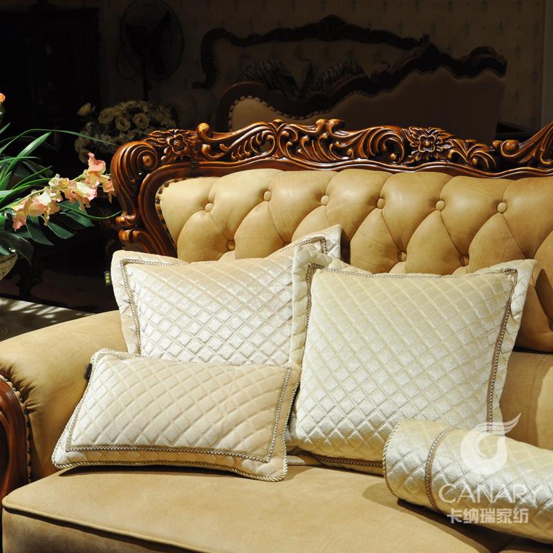 Hot Free shipping Fashion plaid big cushion quality sofa pillow ofhead kaozhen back cushion core the sofa(China (Mainland))