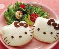 Free Shipping Kawaii Hello Kitty Sandwich Mold Bread Cake Mold Maker DIY Mold Cutter Craft Retail