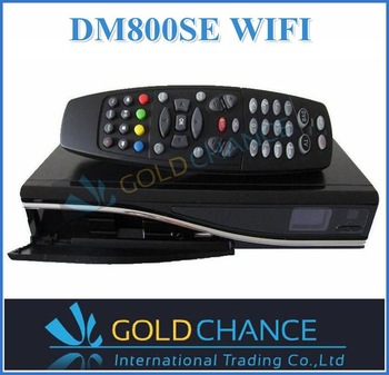 2pcs/lot satellite receiver dm 800 se wifi one tuner sim2.10 HD dvb 800 hd se Enigma 2, Linux Operating System free shipping