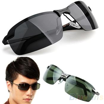 Hot Selling 2015 Brand New Designer Men's Framed Outdoor Sports Classic Polarized Sunglasses Fashion Sun Glasses 1J7N