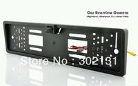Nightvision Eu plate license frame car rearview camera