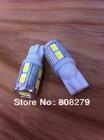 pair / 2 pcs Samsung 10 SMD 5630 High power LED SMD T10 194 W5W W16W White/Amber 12V