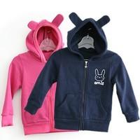 yy8 fleece warm 2-7 age children hoodies new 2014 navy blue / pink boys / girls frozen hoodie 5pcs/ lot free shipping