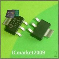 10 PCS NCP1117ST50T3G SOT-223 NCP1117ST50 1117ST50 1.0 A Dropout Positive Fixed and Adjustable Voltage Regulators