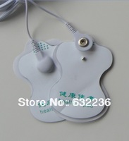 freeshipping 50pcs/lot good quality white Electrode Pads for Tens Acupuncture,Digital Therapy Machine Massager