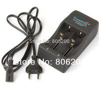 Multi-function TrustFire TR-006 Plug EU Dual-Slot 25500 / 26650 / 26700 / 18650 / 16340 Battery Charger 5pcs/lot ,Free Shipping