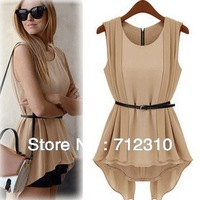 Factory Price European Fashion Loose Women's Dress Chiffon Solid Hollow Out Sexy Dresses WD121