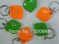 FREE SHIPPING 10x RFID EM4100125Khz Proximity ID Cards keyfobs, tags key for  Card Access Control  EM Proximity