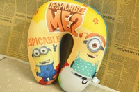 Despicable Me 2 Minions Cartoon U-shape Neck Foam Pillow Plush Toys Very Soft feeling Health for You Office and Cars