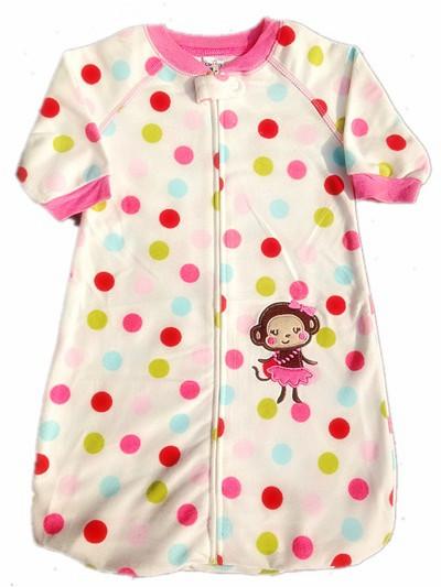 Покупки фестиваль младенцы сон мешок прекрасный обезьяна младенцы пижамы флис новорожденного весна осень длинная - рукав