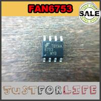 [ LCD Repair Area ] Free Shipping !!! 6753 FAN6753 FAN6753MY SOP-8 Fairchild Brand IC Chips CTRLR PWM GREEN OVP UVLO Wholesale